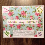 living not existing