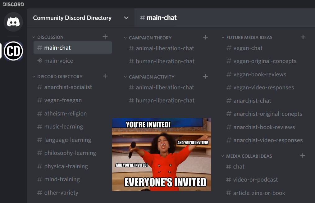 community discord directory