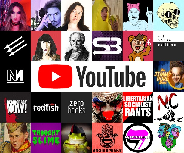 top 25 anarchist youtubers