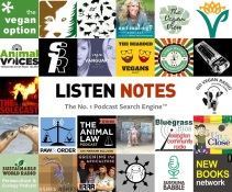 top 25 vegan podcasts