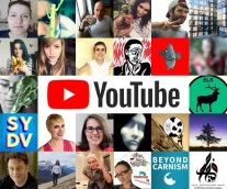 top 25 vegan youtubers