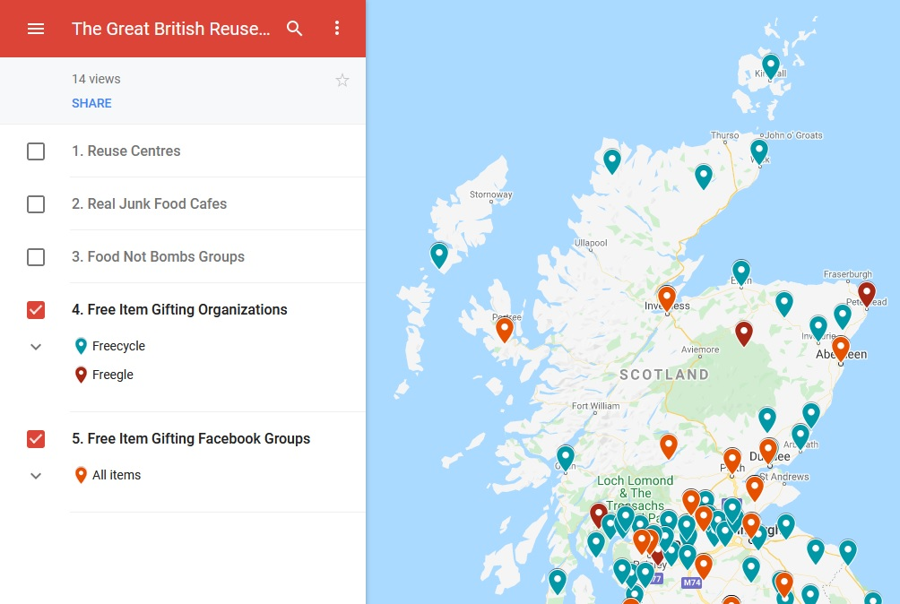 The Great British Reuse Map
